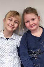 Bild klein Friederike Gebe und Charlotte Mentz