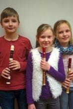 Bild klein Konstantin Schilling, Marika Zarries und Tamara Kairies