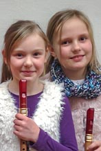Bild klein Marika Zarries und Tamara Kairies